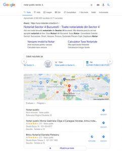 Profil Google My Business Search